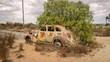 Autowrack im Outback Australiens