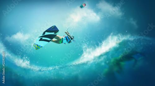 Photo  Kitesurfing