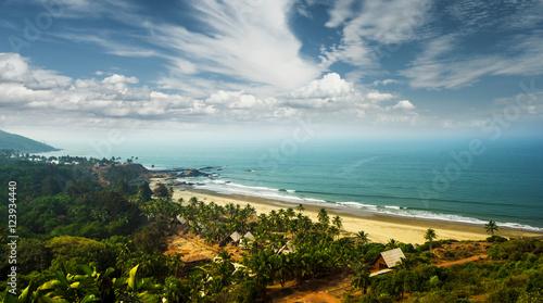 Goa beach India