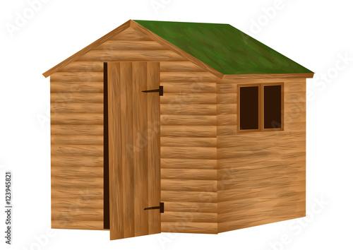 Cuadros en Lienzo garden shed