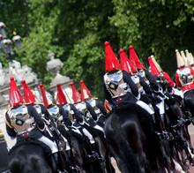 The Household Cavalry London England