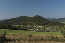 Area Near Mnisek Nad Hnilcom In Summer Hot Day