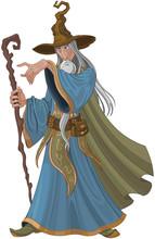 Fantasy Style Wizard
