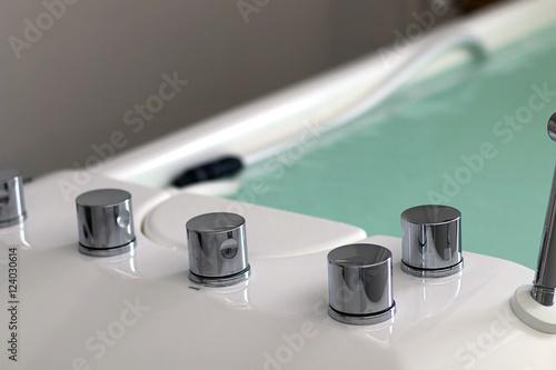 Valokuva  Therapy tub. Galvanic bath tub. Electrotherapy.