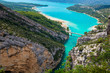 The Lake of Sainte-Croix and Verdon Gorges, France