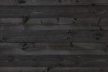Dark Wood Background, Black Texture