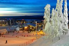 Ski Resort In Lapland