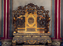 Emperor's Throne Gugong Forbid...