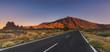Road in the glens of Teide