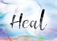 Heal Colorful Watercolor And I...