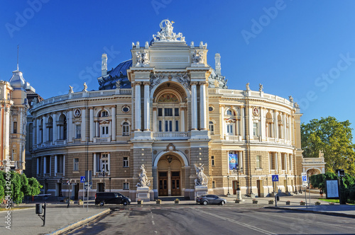 Spoed Foto op Canvas Theater Theatre of Opera and Ballet in Odessa