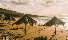 Windswept Umbrellas Cypriot Be...