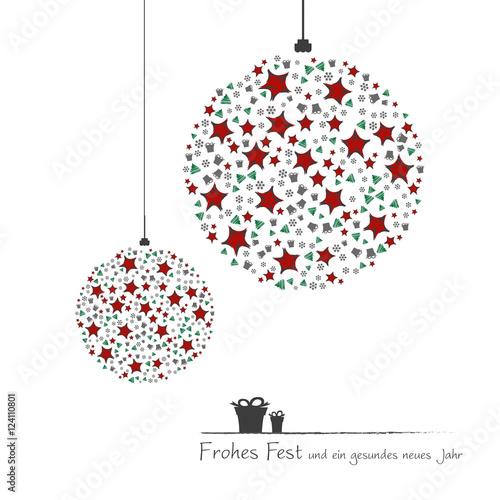 Moderne Christbaumkugeln.Christbaumkugeln Mit Sternen Und Geschenken Modern Buy This