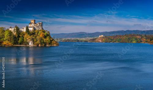 Fototapeta Medieval Castle in Niedzica, Poland. obraz na płótnie