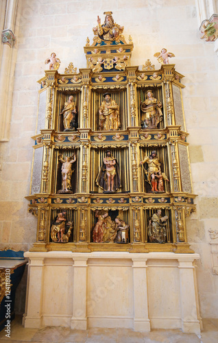 Fotografie, Obraz  Retable in Burgos Cathedral, Spain