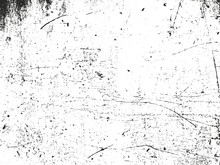 Distressed Overlay Texture Of Dust Metal, Cracked Peeled Concrete
