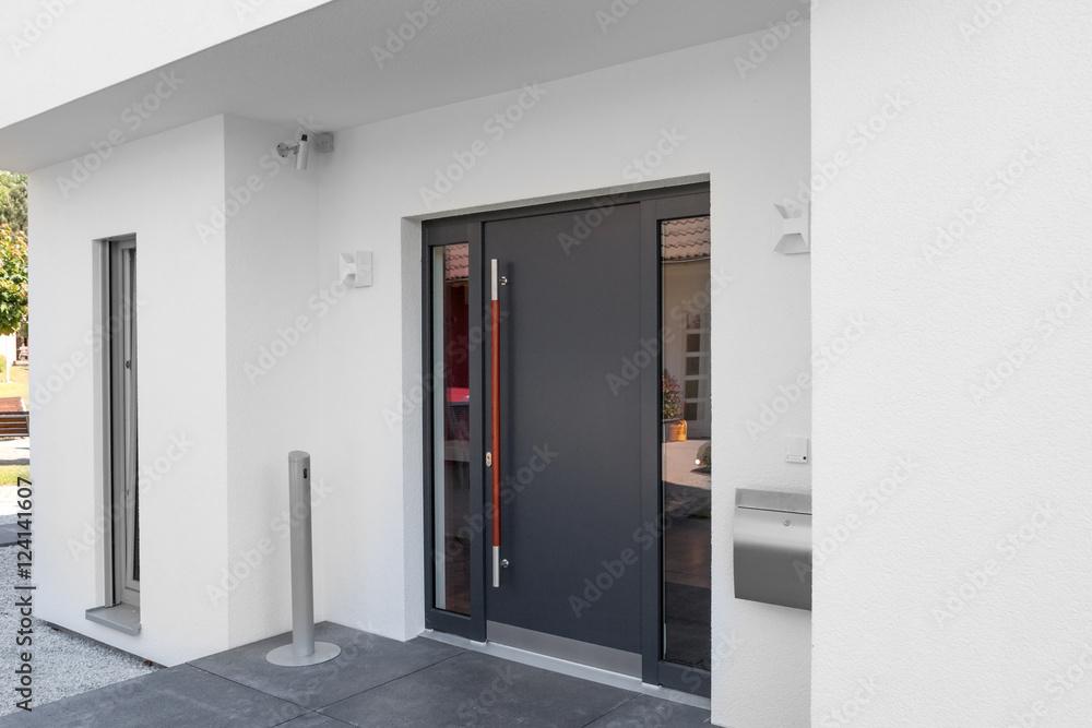 Fototapeta Haustür Wohnhaus Eingang