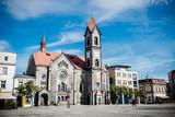 Town Square in Tarnowskie Gory, Poland