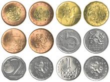 Czech Koruna Coins Collection ...