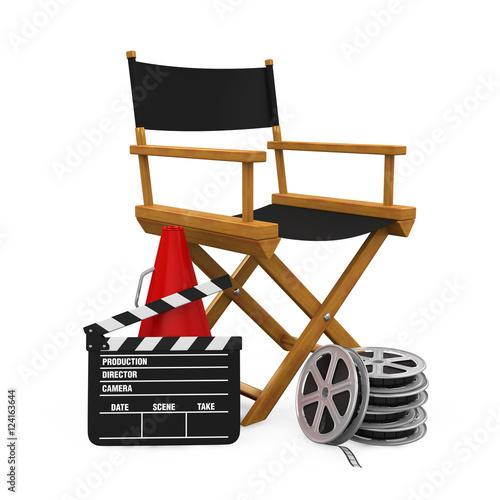 Director Chair and Filmmaker Equipment
