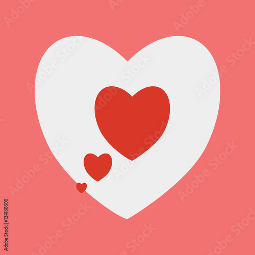 Heart Shape Background Love Heart Symbols For Valentines Day