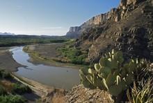 Rio Grande Where It Exits Sant...