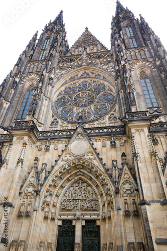 Photo  Cathedral in Prague, Czech Republic