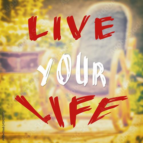Fotografie, Obraz  Motivational and optimistic quote