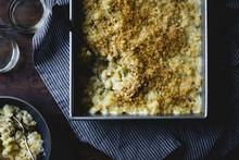 Creamy Cardoon Mac And Cheese