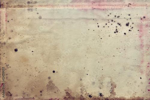 Photo  Grunge vintage very old paper blank letter