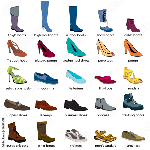 Shoes Names That Start With S