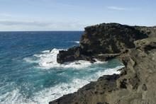 Halona Blow Hole Cliffs