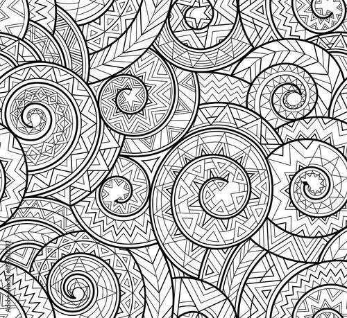 czarno-bialy-zlozony-wzor-geometryczny-ze-spiralami-liniami-trojkatami-w-stylu-prymitywnego-plemienia-wektor