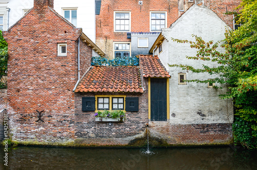 Photo  House on the water Netherlands