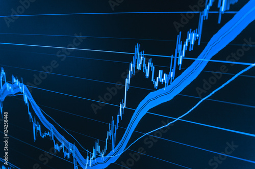 Currency trading theme  Conceptual view of the foreign exchange