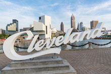 Cleveland Sign And Skyline Fro...