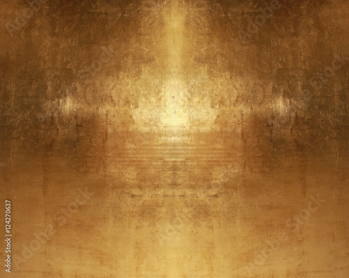 Fotografia  gold background