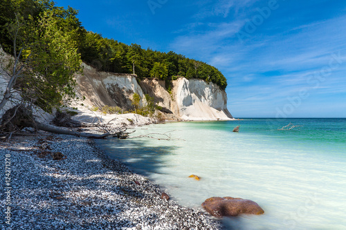 Staande foto Kust Die Ostseeküste auf der Insel Rügen