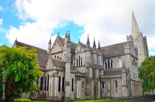Zdjęcie XXL Katedra Świętego Patryka w Dublinie, Irlandia