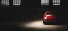 911 Oldtimer Roter Sportwagen,...
