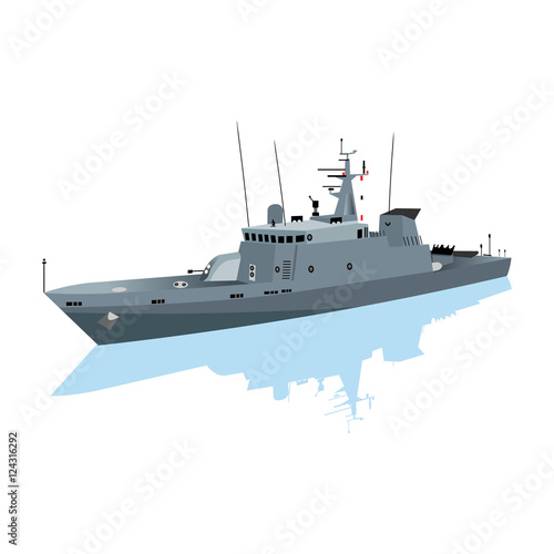 Fotografiet warship