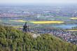 Kaiser-Wilhelm-Denkmal aus der Luft