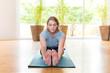 Yoga Übungen - Gymnastik