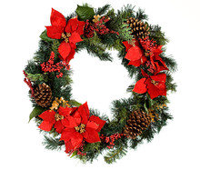 Wreath: Christmas Wreath With ...