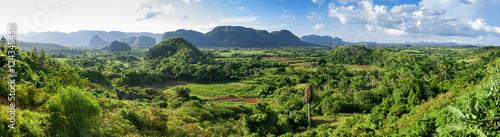 panorama of valley of Vinales,Cuba Fototapeta