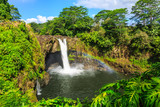 Fototapeta Tęcza - Hawaii, Rainbow Falls in Hilo