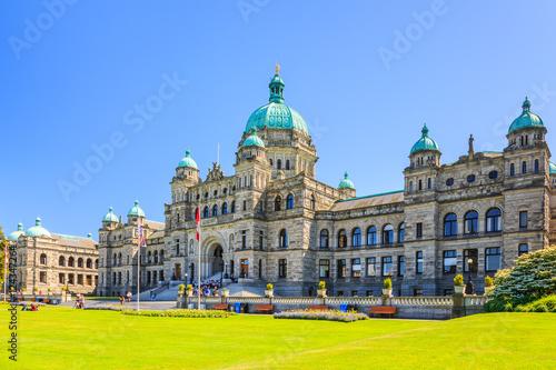 Fototapeta Victoria, British Columbia. Parliament building. obraz