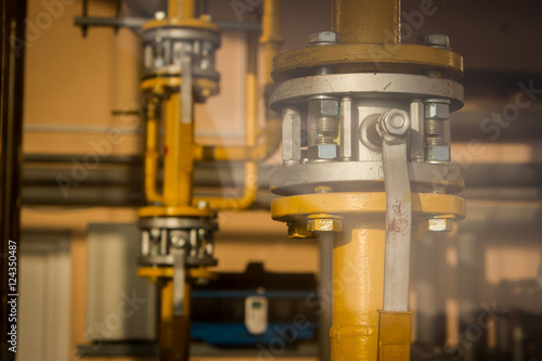 Control valve or pressure regulator in oil and gas process, The