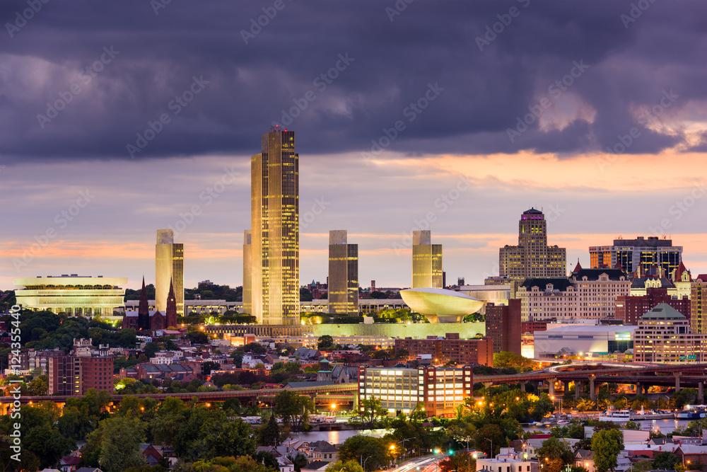 Fototapety, obrazy: Albany New York Skyline