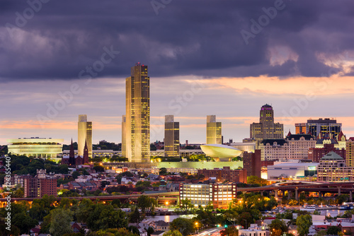 Albany New York Skyline Fototapet